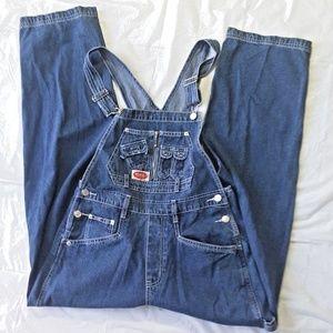 Revolt USA Clothing Co. size M Blue Denim Overalls